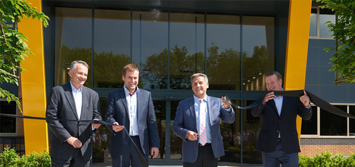 Dematic Northern Europe opens state-of-the-art headquarters in Adderbury .
