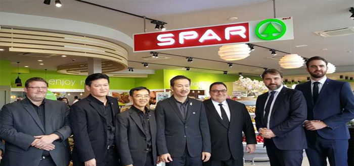 SPAR is opening 300 new stores in Thailand with support from DHL.