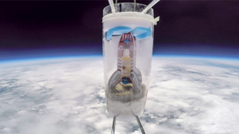 Packaging Company sends Recycled Rocket into Space with Whisky as payload!
