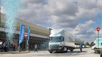 Hermes opens the UK's largest parcel hub.