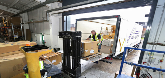 Forklift truck sales up 8.2% year-on-year – with retail distribution sector demand up by 40%.