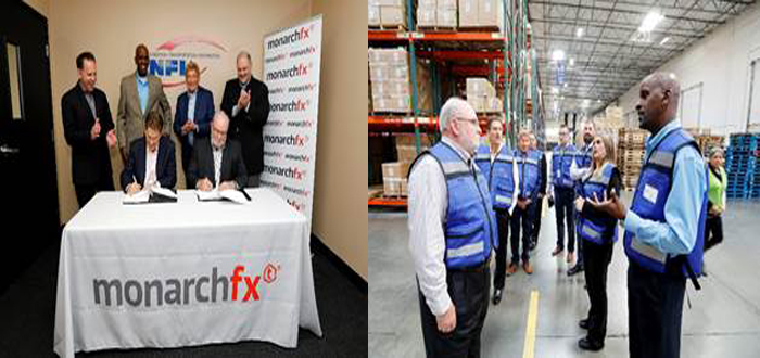 MonarchFx, A Division Of Tompkins International, Partners With NFI.