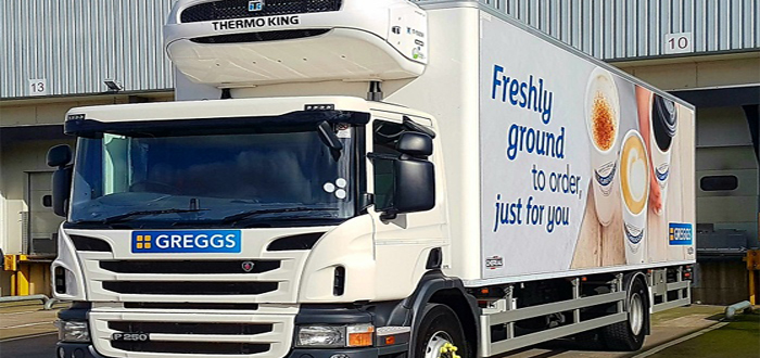 Greggs optmises distribution with Paragon's routing and scheduling software.