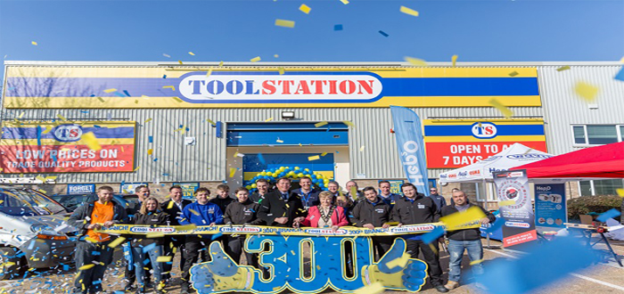 SSI Schaefer Equips Toolstation's Milestone 300th Branch with Integrated Storage System