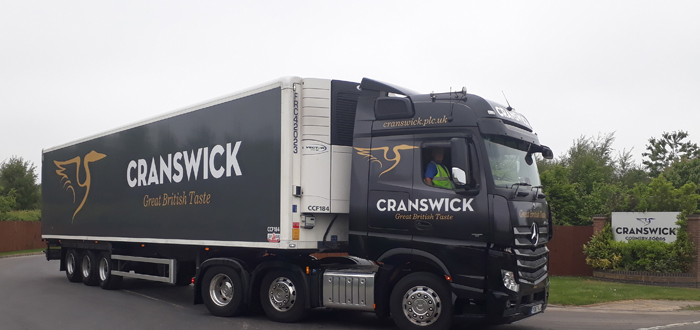 Cranswick Chooses Intelligent Telematics For Connected Vehicle Camera Solution.