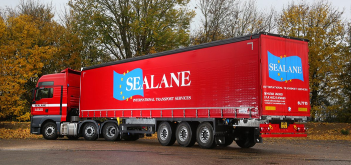 Sealane Freight Selects Schmitz Cargobull's Robust Curtainsiders For Its European Network.