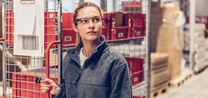 Pick-by-Vision: Fiege Equips Another Location With Picavi Smart Glasses.