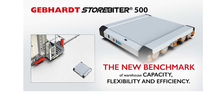 GEBHARDT Launches StoreBiter 500® For Maximising Warehouse Storage