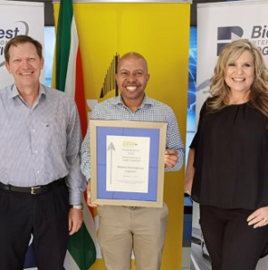 Bidvest International Logistics wins PMR Diamond Award for Third Consecutive Year