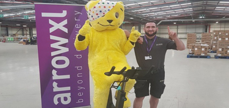 LEADING TWO-PERSON DELIVERY SPECIALISTS  PEDAL FOR POUNDS