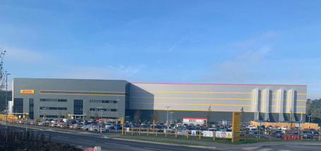 BRANDSAFE SPECIFIED FOR DHL'S NEW EAST MIDLANDS DISTRIBUTION CENTRE