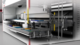 Ferretto Group keeps focusing on automation: the new Vertimag Automatic Vertical Lift Module (VLM)