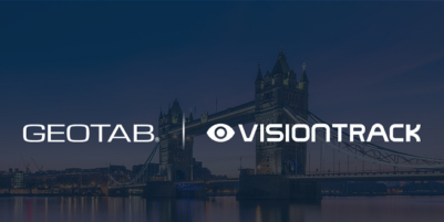 Geotab and VisionTrack offer DVS-compliant solution to help improve pedestrian and cyclist safety in the UK