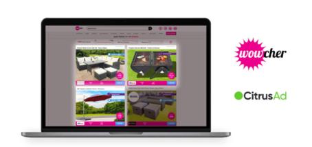 Wowcher goes live with CitrusAd retail media platform