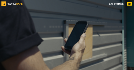 PEOPLESAFE LONE WORKER PROTECTION SOLUTION NOW AVAILABLE ON CAT® RUGGED SMARTPHONES FOR ENHANCED HGV DRIVER PROTECTION