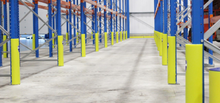NEW RACK ARMOUR SOLUTION FROM BEAVERSWOOD OFFERS SUPREME PALLET RACKING PROTECTION