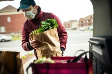 Courier surge continues despite easing restrictions